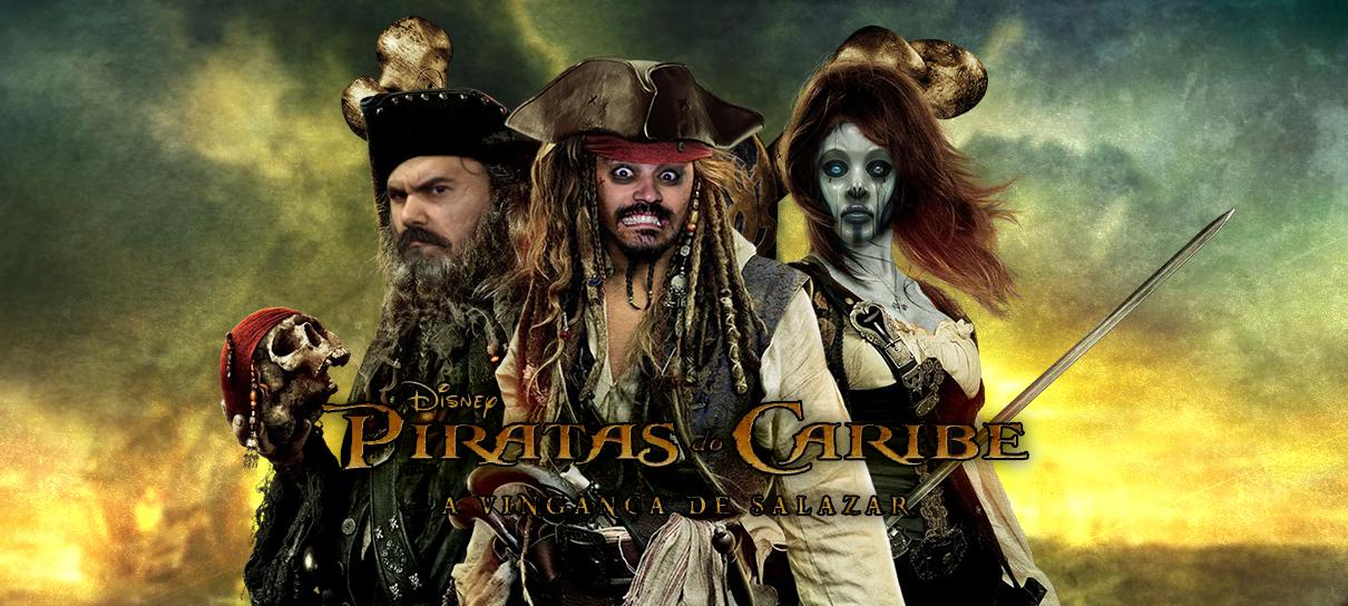 Piratas do Caribe 5: homens mortos não contam contos! - MRG Episódio 366