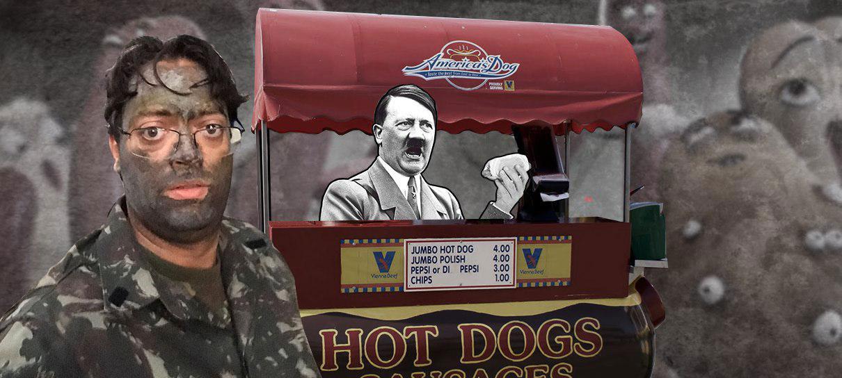 A Voz do Robô faz um sanduíche nazista! - MRG Episódio 376