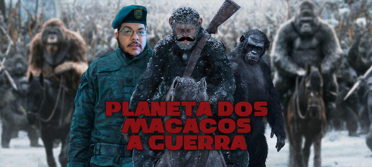 Planeta dos Macacos: Guerra das Bananas! - MRG Episódio 375