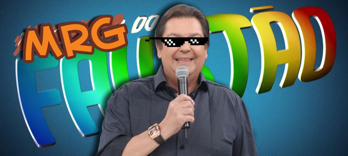 Faustão participa da Voz do Robô! - MRG Episódio 382