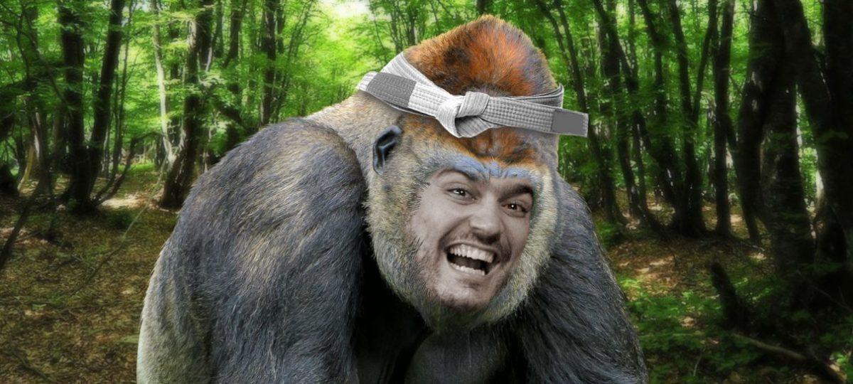 A Voz do Robô luta com macacos!