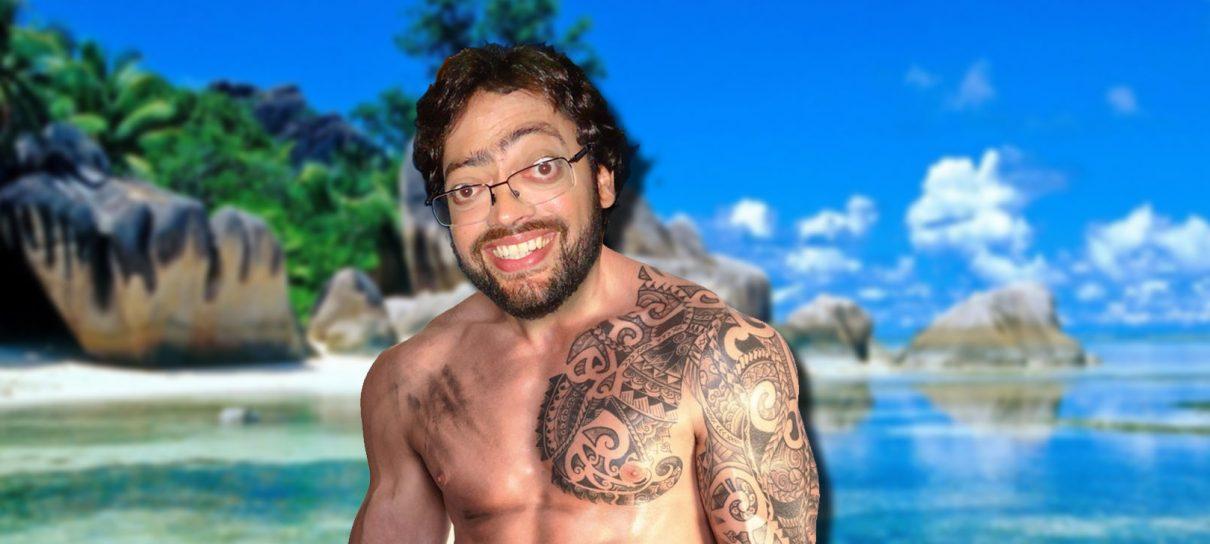 Fernando Caruso tatua na Voz do Robô! - MRG Episódio 301