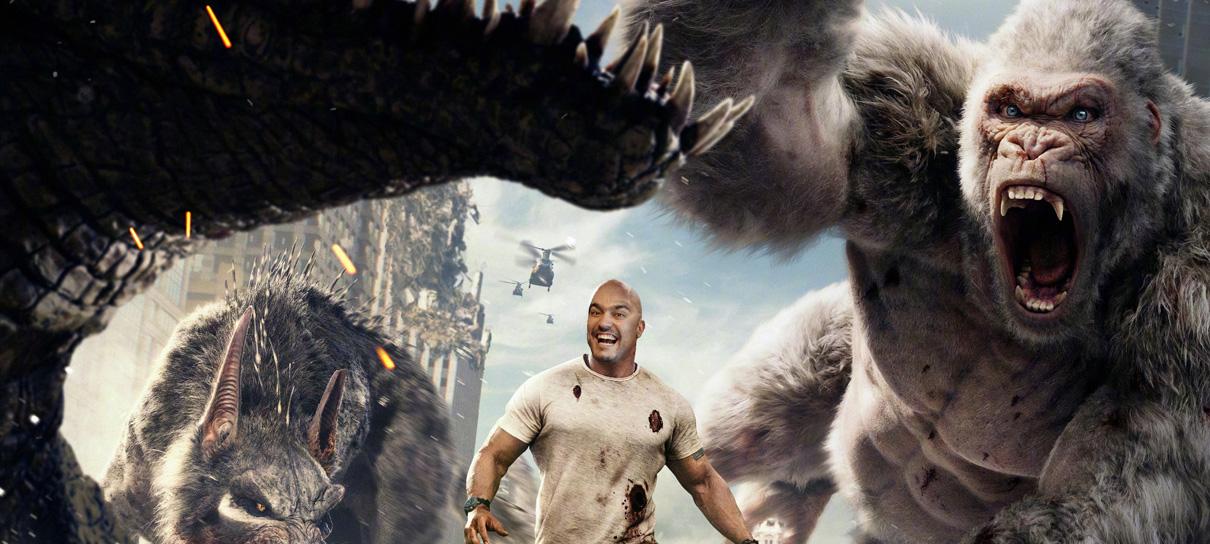 The Rock, papel e monstros gigantes! - MRG Episódio 419