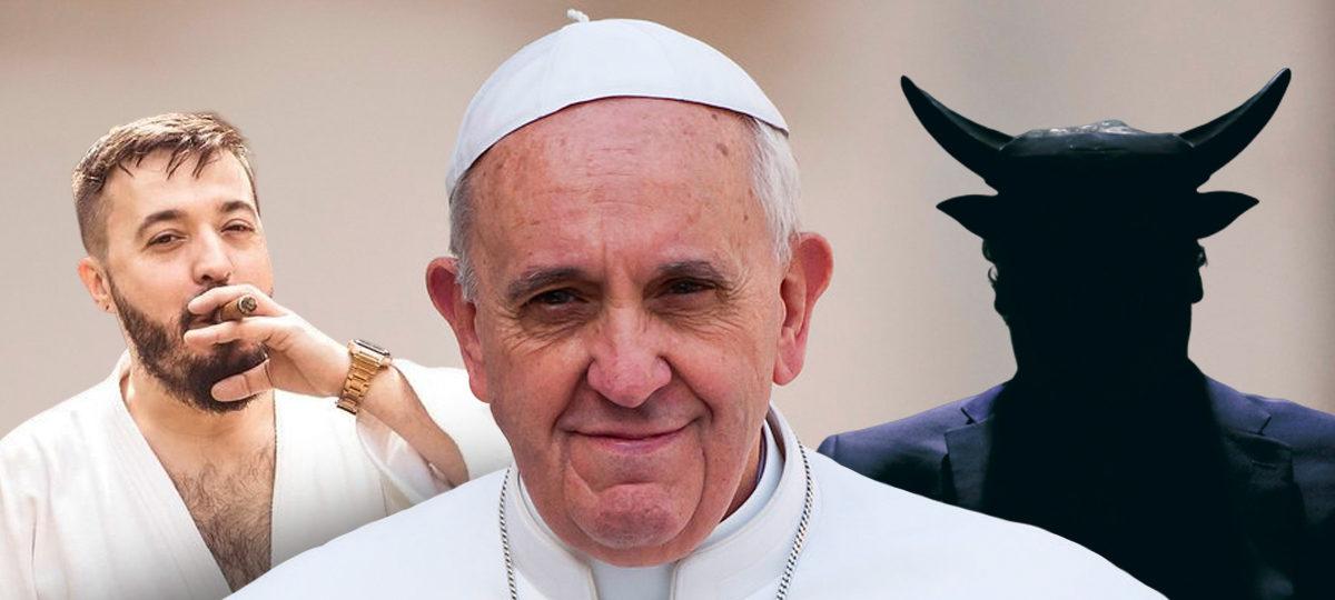 afonso 3d com papa francisco MRG podcast