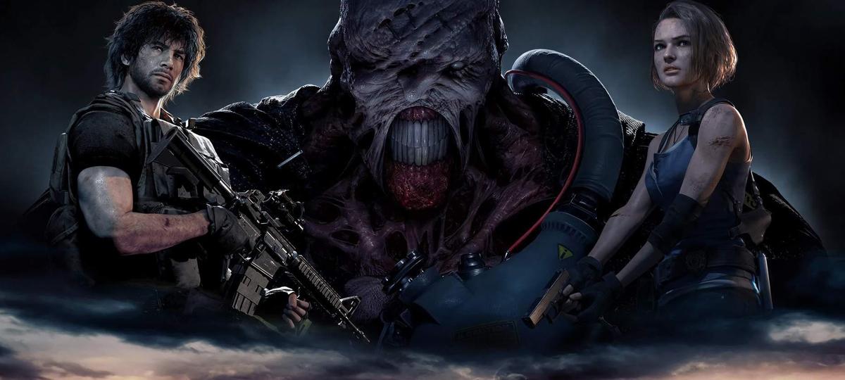 Resident Evil 3 remake e a cabeleira de Carlos! - MRG Episódio 498