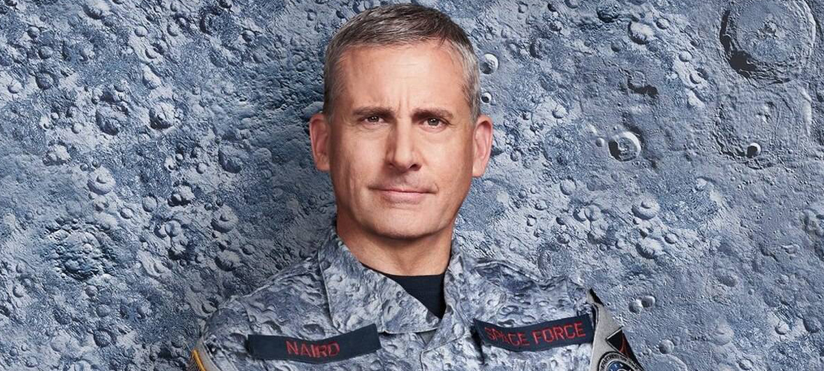 Space Force e a voz estranha do Steve Carell! - MRG Episódio 505