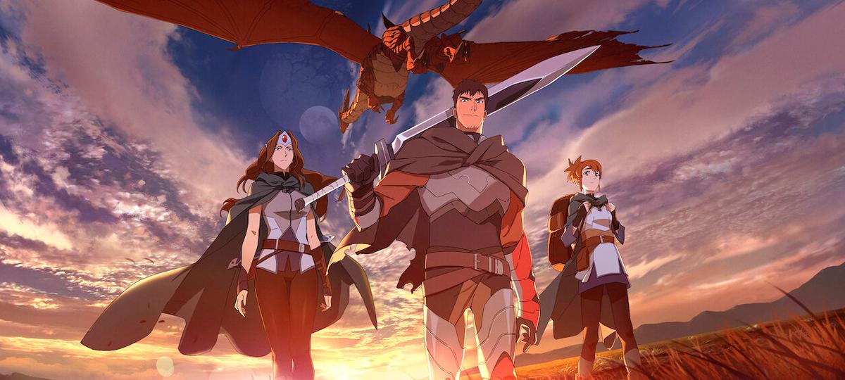 DOTA 2: Dragon's Blood MRG podcast